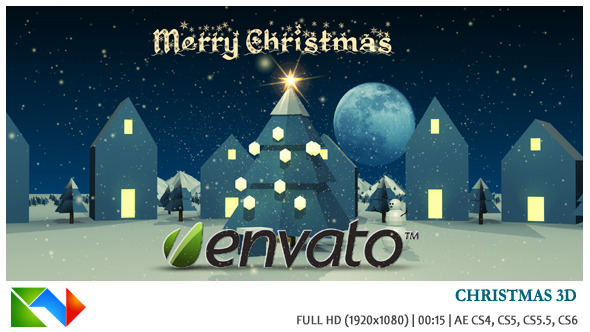 VideoHive Christmas 3D 3627371