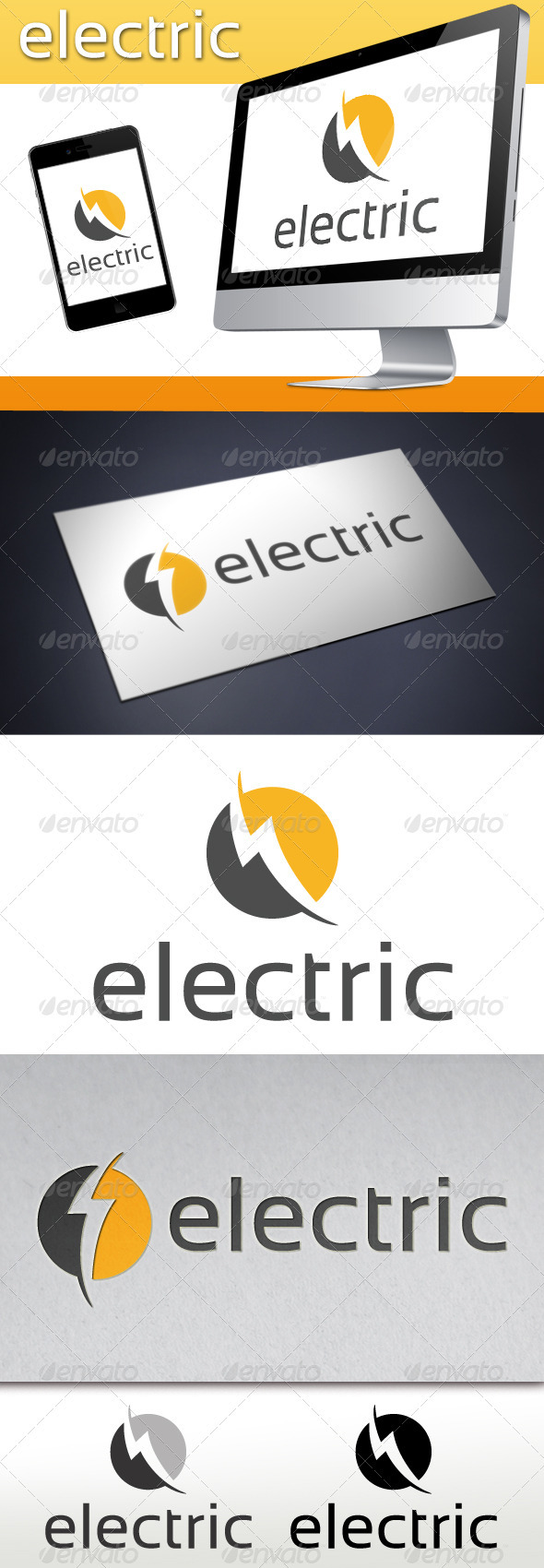 GraphicRiver Electric Logo Template 3571080