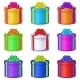 Round Gift Boxes - GraphicRiver Item for Sale