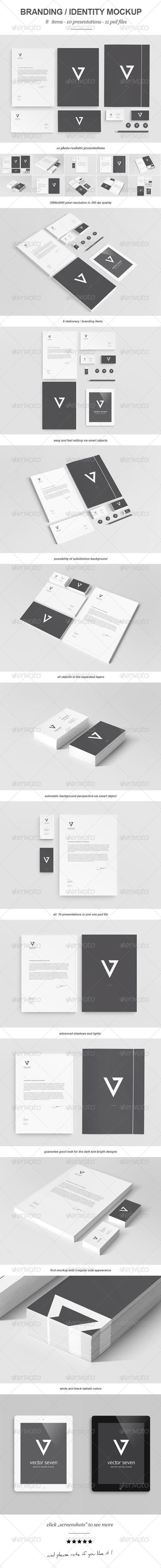 GraphicRiver Branding Identity Mock-up II 3051325