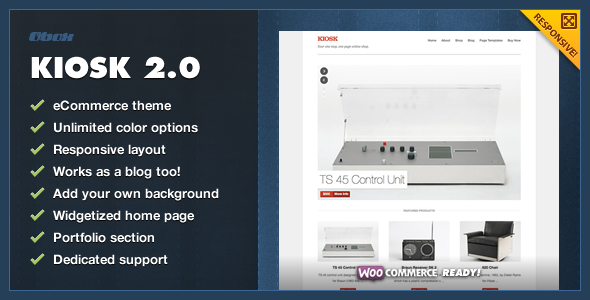 ThemeForest Kiosk 2.0 Premium WordPress eCommerce Theme 2909966