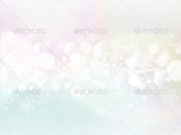 GraphicRiver Christmas Background 3628817