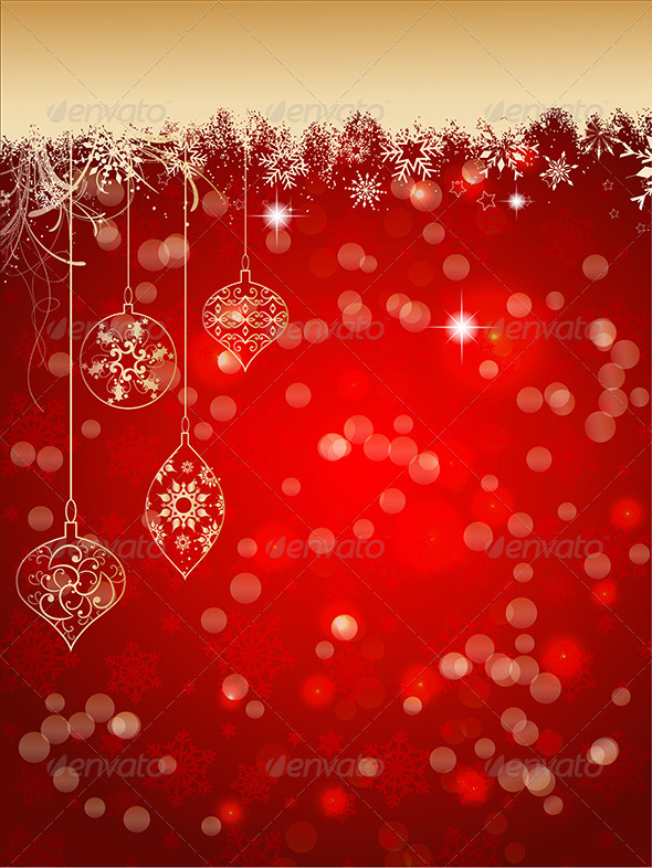 GraphicRiver Christmas Background 3628822