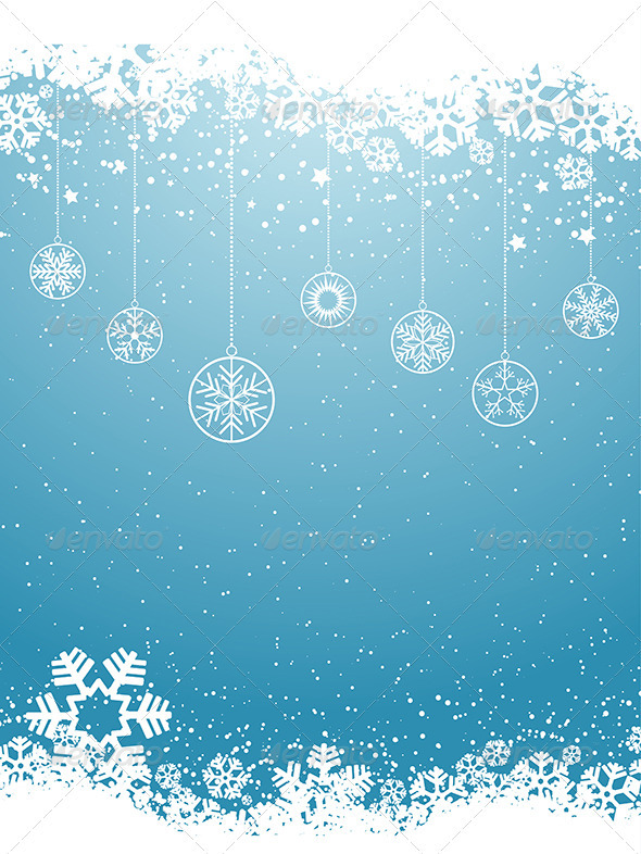 GraphicRiver Christmas Background 3628839