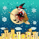 Befana Moon in the City  - GraphicRiver Item for Sale