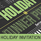 Holiday Dinner Invitation - GraphicRiver Item for Sale