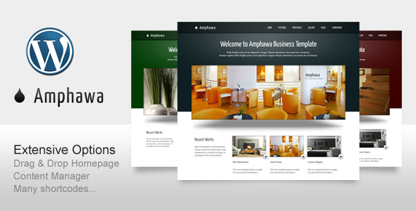 ThemeForest Amphawa for Business Corporate Portfolio 236063