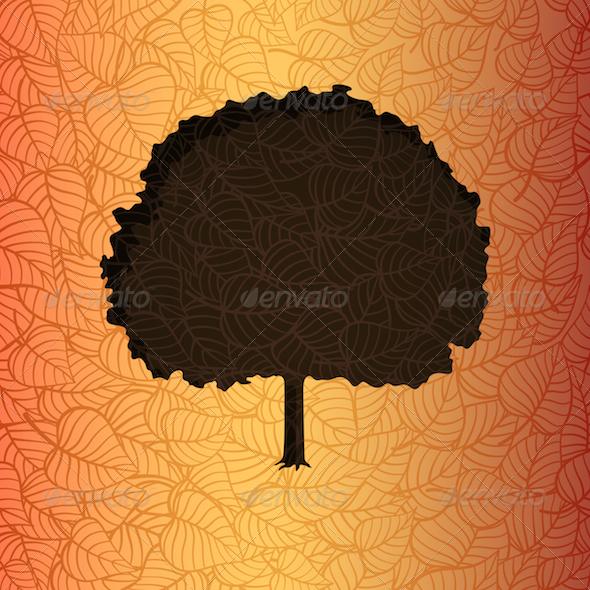 GraphicRiver Autumn Tree 3630481