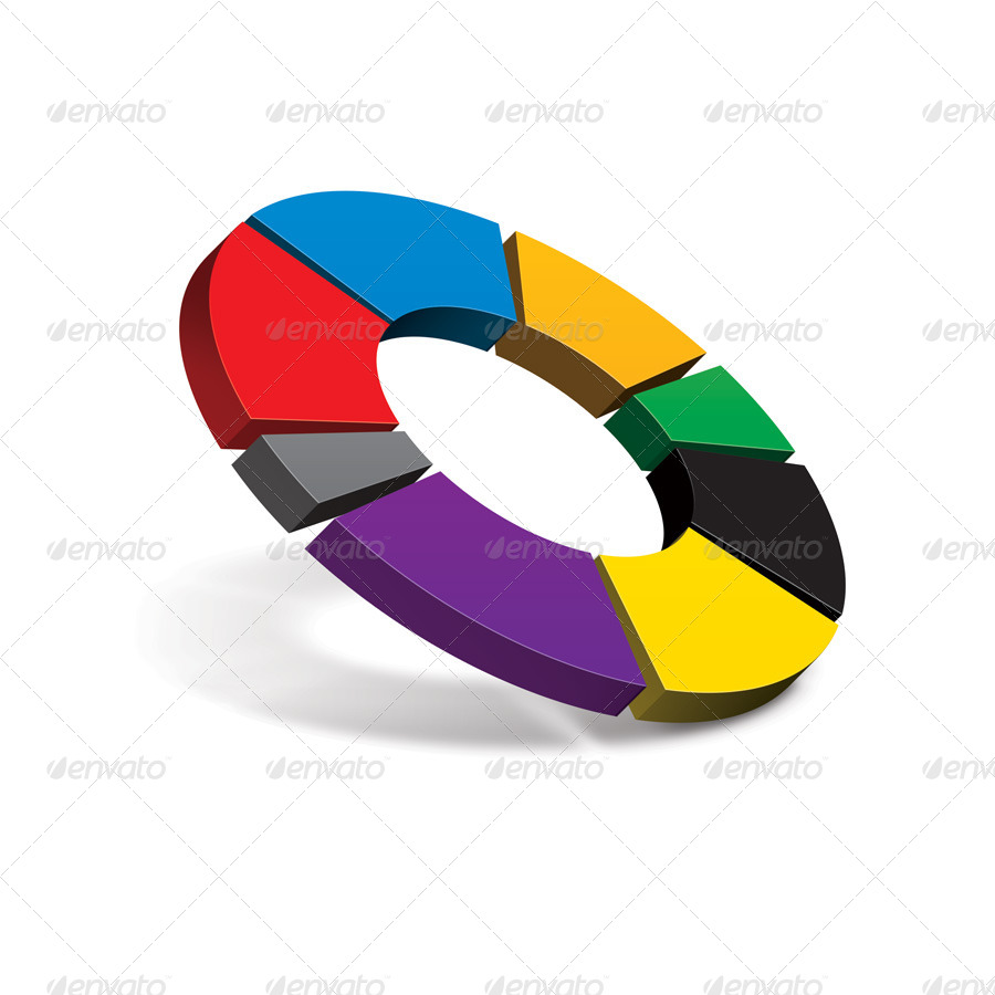3d pie chart generator by themetor graphicriver for 3d diagram maker online