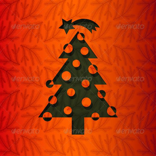 GraphicRiver Christmas Tree 3630506