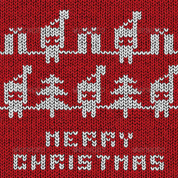 GraphicRiver Christmas Sweater 3630715