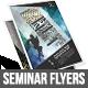 Gstudio Seminar Flyers Template - GraphicRiver Item for Sale