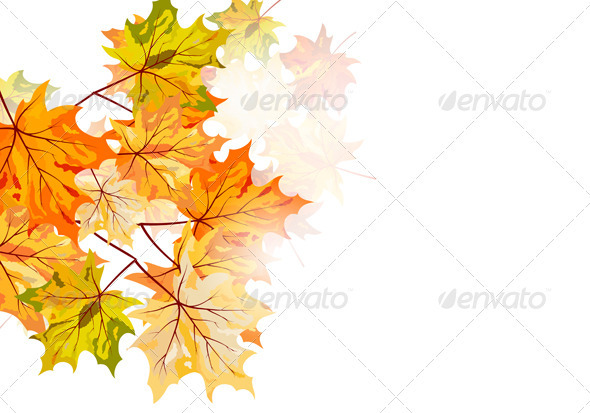 GraphicRiver Autumn Background 3631787