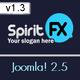 SpiritFX – Business and Portfolio Template  Free Download
