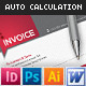 Professional Invoices - GraphicRiver Item for Sale