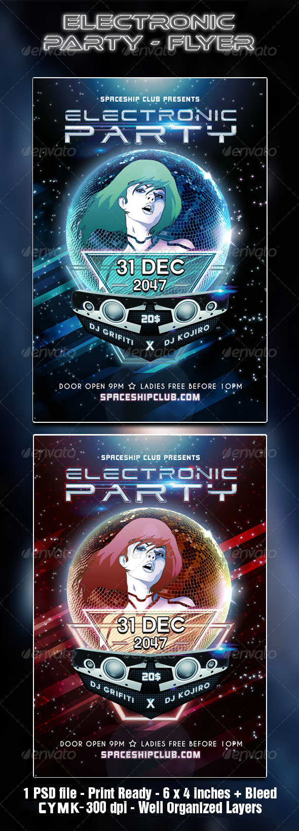 GraphicRiver Electronic Party 3569818