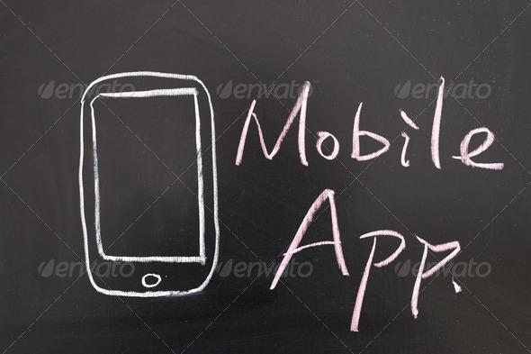 PhotoDune Mobile app concept 3632254