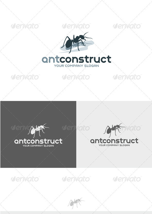 GraphicRiver Ant Construct Logo 3632294