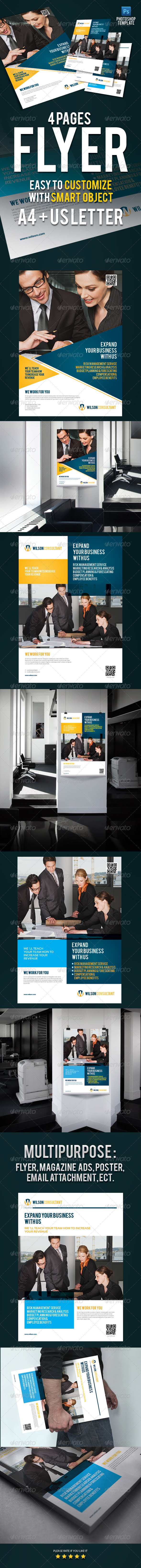 GraphicRiver Business Flyer Ads 3581211
