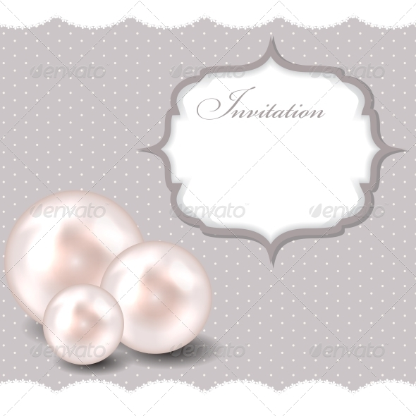 GraphicRiver Beauty Pearl Background Vector Illustration 3633401