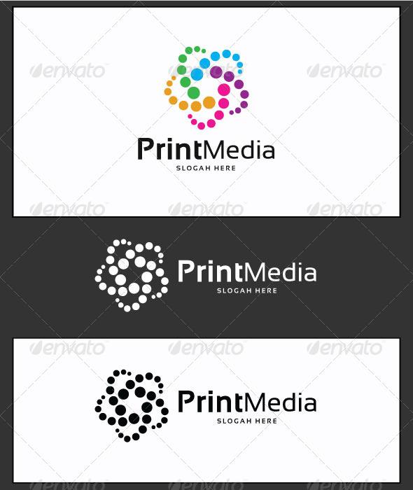 GraphicRiver Print Media Logo Template 3633467