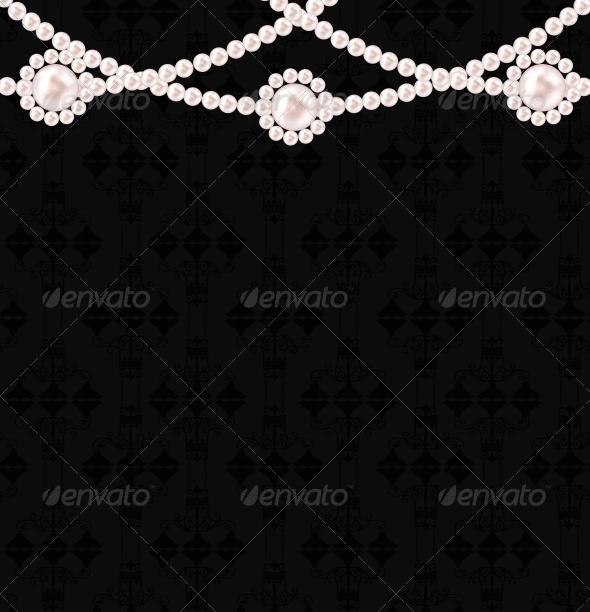 GraphicRiver Beauty Pearl Background Vector Illustration 3633470