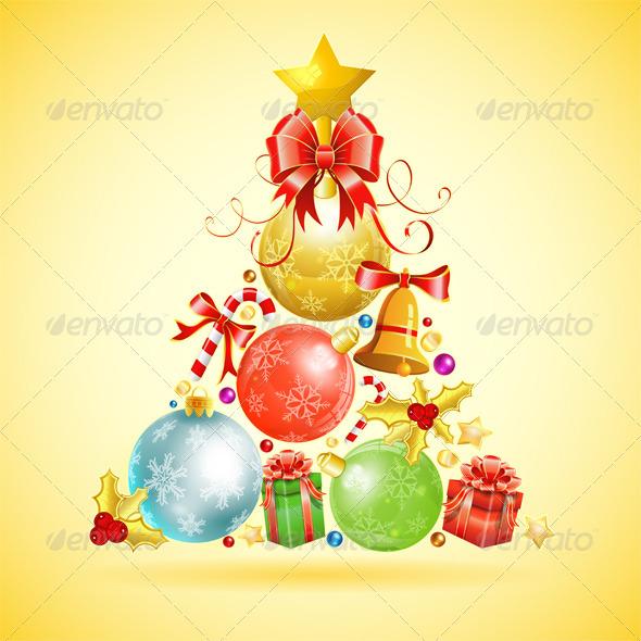 GraphicRiver Christmas Concept 3634626