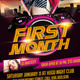 First Month Flyer Template - GraphicRiver Item for Sale