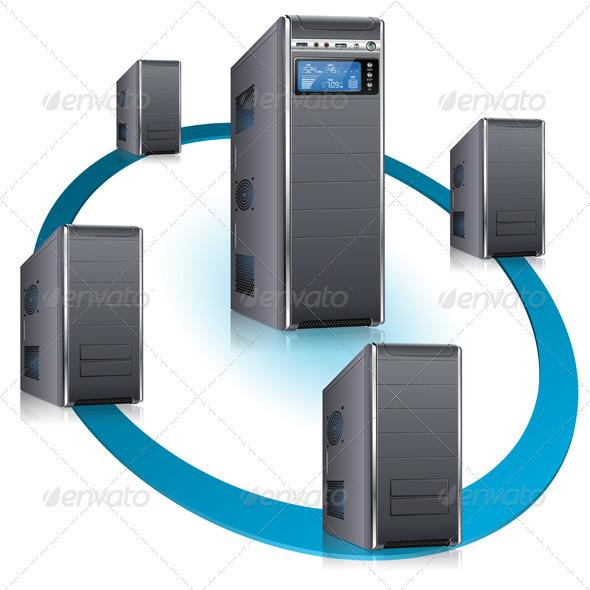GraphicRiver Network Concept 3634676