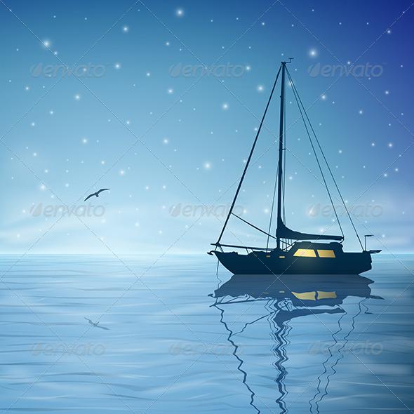 GraphicRiver Sailing Boat 3634833