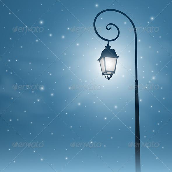 GraphicRiver Street Light 3634903