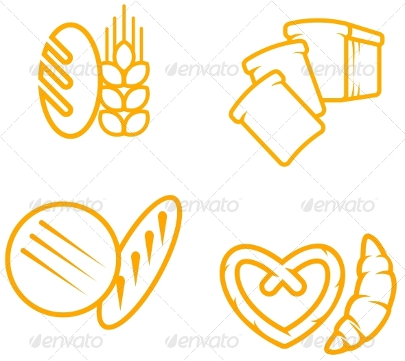 Bread Symbols - Decorative Symbols Decorative