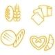 Bread Symbols - GraphicRiver Item for Sale