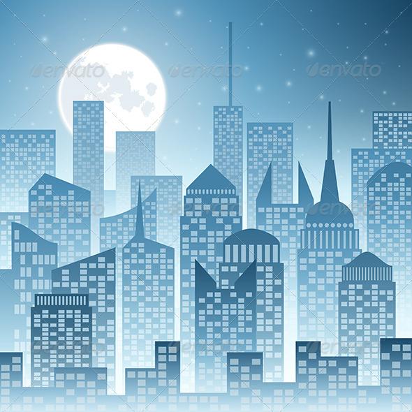 GraphicRiver Cityscape 3634914