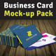 5 Mockup | Photorealistic Business Card v1 - GraphicRiver Item for Sale
