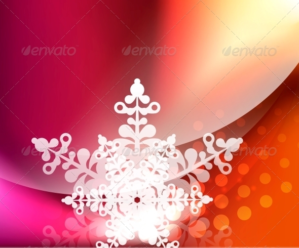 GraphicRiver Vector Christmas Background 3635598