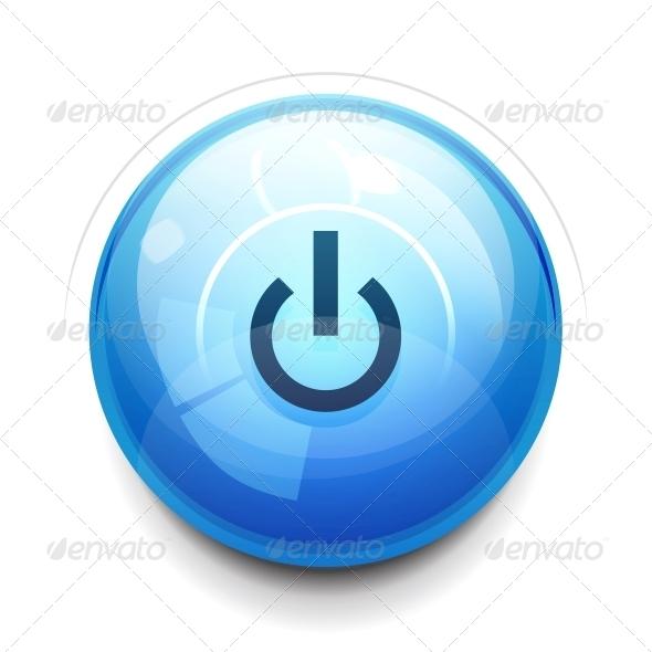 GraphicRiver Power Button 3637041