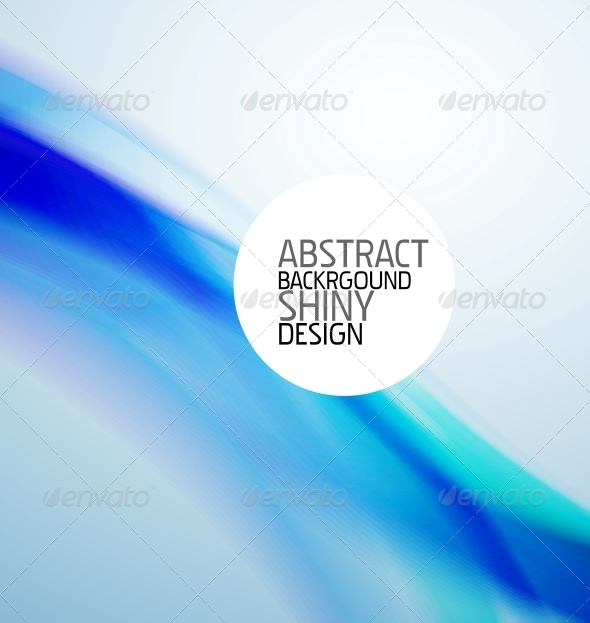 GraphicRiver Blue Wave Background 3637084