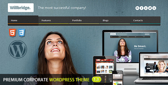 ThemeForest Willbridge Premium Wordpress Theme 3211653