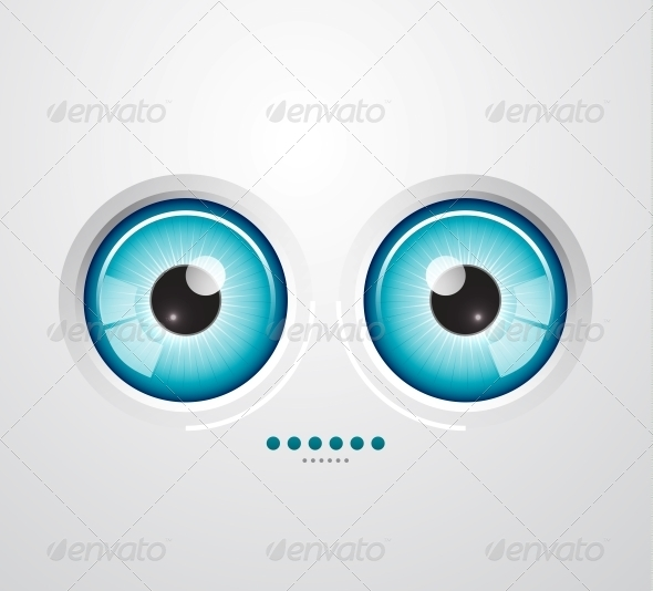 GraphicRiver Eye Background 3637094
