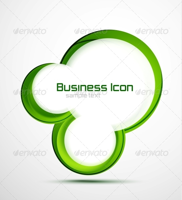 GraphicRiver Business Ecology Swirl Concept 3637945