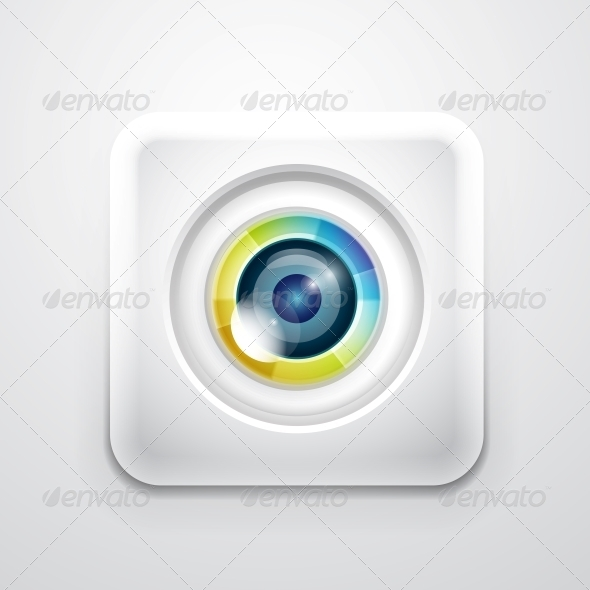 GraphicRiver Camera Application Icon 3638024