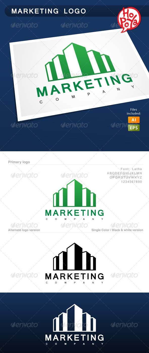 GraphicRiver Marketing Logo 3638231