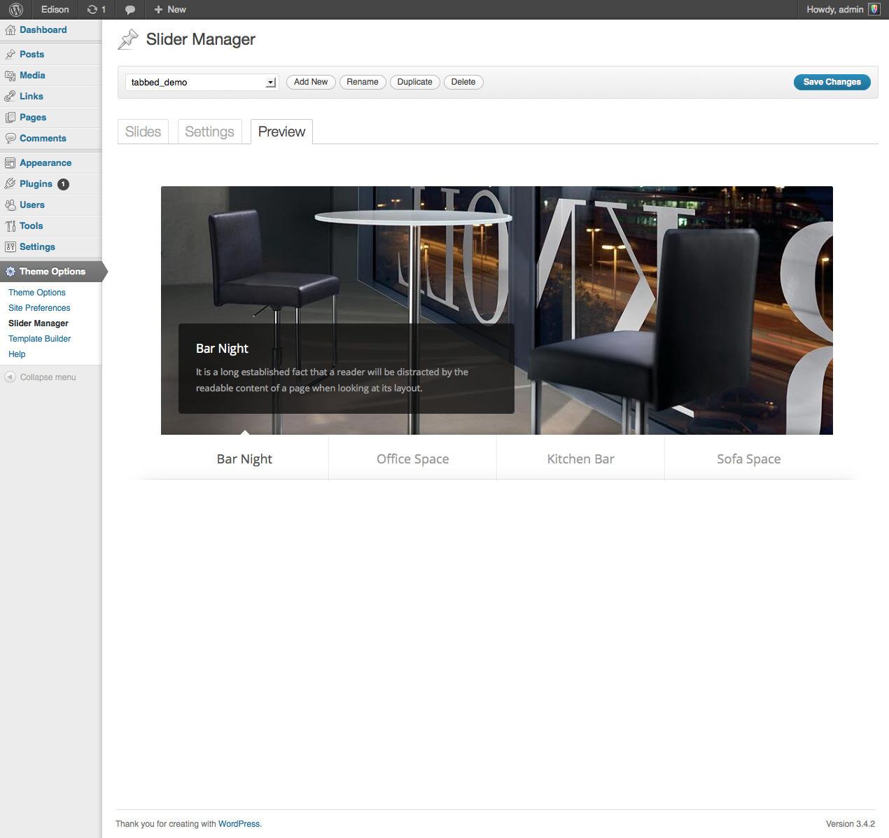 Edison - Business and Portfolio WordPress Theme