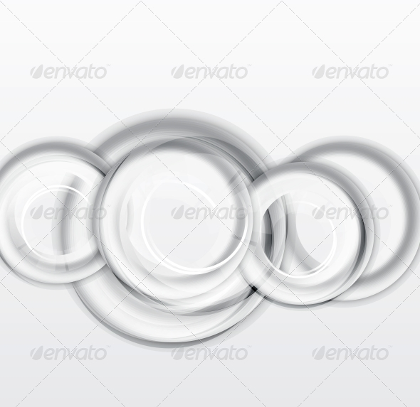 Circles Geometrical Background
