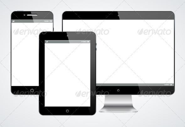 GraphicRiver Gadgets 3638646