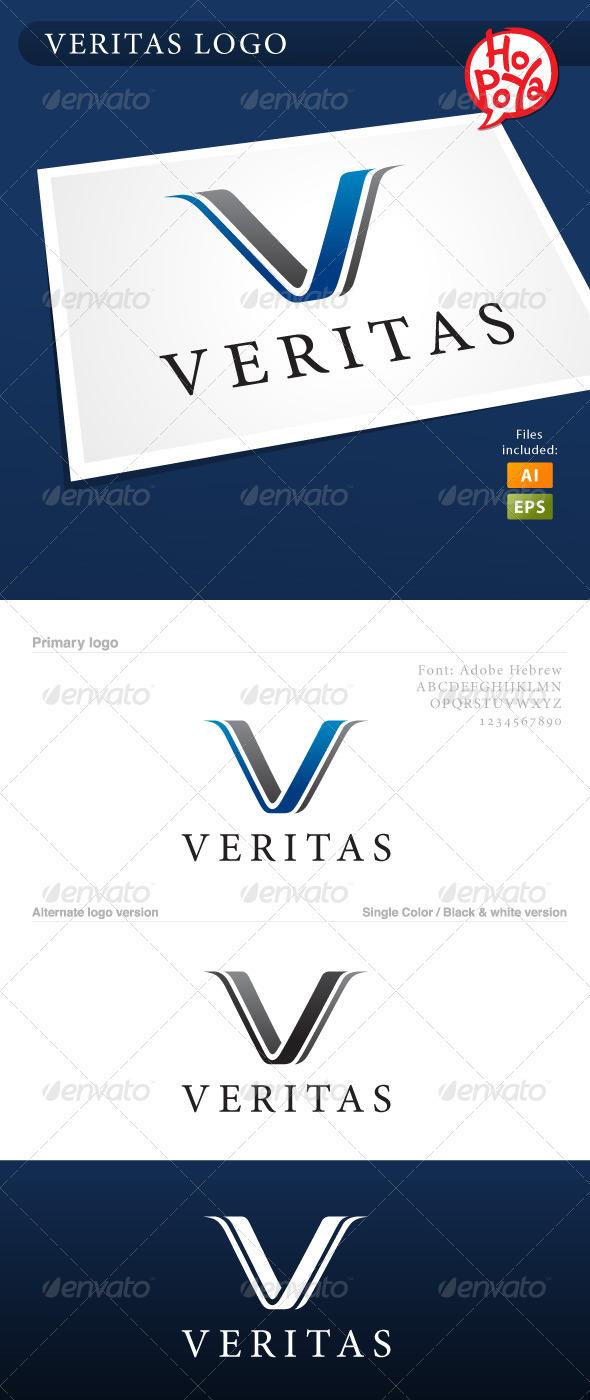 Veritas Logo - Letters Logo Templates