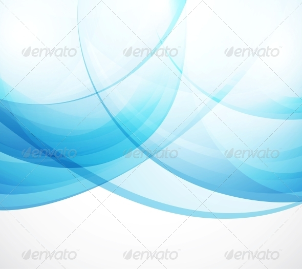 GraphicRiver Vector Abstract Background Blue Waves 3638766