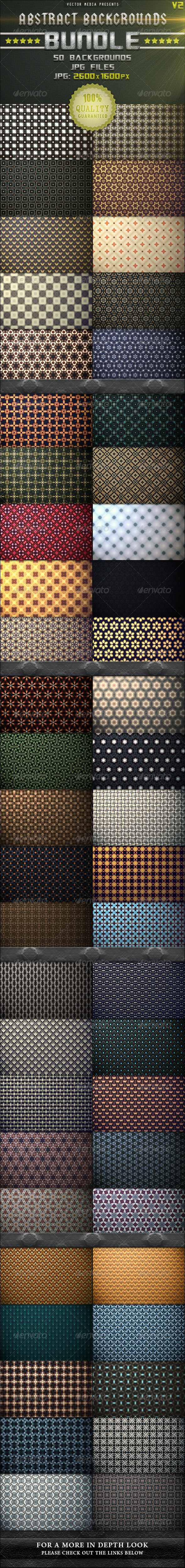 GraphicRiver Abstract Backgrounds Bundle [Vol.2] 3638841