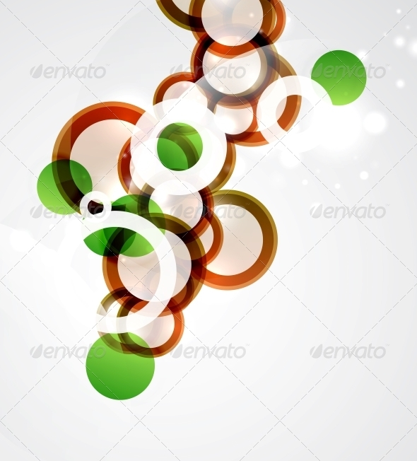 GraphicRiver Abstract Circles Background 3639053